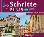 B1 - 4 Audio-CDs zum Kursbuch / Schritte plus Neu - Deutsch als Zweitsprache, Ausgabe Österreich .5+6