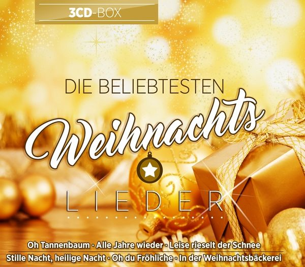 Weihnachtslieder Cd.Die Beliebtesten Weihnachtslieder