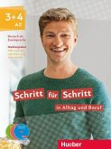 Medienpaket zum Kurs- und Arbeitsbuch, DVD + Audio-CDs / Schritt für Schritt in Alltag und Beruf .3+4
