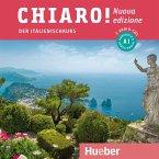 Chiaro! A1 - Nuova edizione, 2 Audio-CDs zum Kurs- und Arbeitsbuch