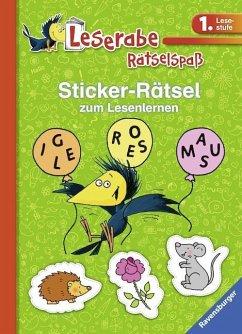 Sticker-Rätsel zum Lesenlernen (1. Lesestufe), ...