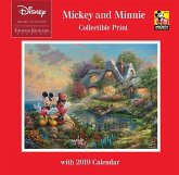 Thomas Kinkade Studios: the Disney Dreams Collection Mickey and Minnie 2019 Collectible Print Wall Calendar