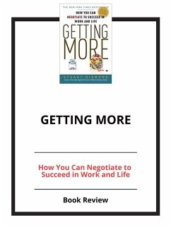 Getting More (eBook, ePUB)