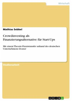 Crowdinvesting als Finanzierungsalternative für...