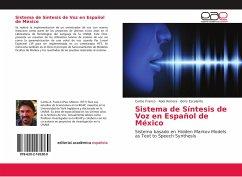 Sistema de Síntesis de Voz en Español de México
