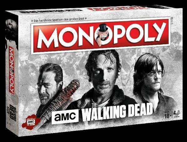 Monopoly The Walking Dead AMC (Spiel)