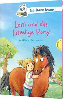 Ich kann lesen!: Leni und das kitzelige Pony - Frank, Astrid