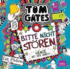 Bitte nicht stören, Genie bei der Arbeit... / Tom Gates Bd.8 (2 Audio-CDs) - Pichon, Liz