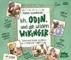 Ich, Odin, und die wilden Wikinger, 4 Audio-CDs
