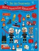 Mein supertoller Rätselspaß: Bei der Feuerwehr