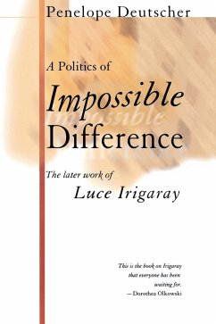 A Politics of Impossible Difference (eBook, PDF)