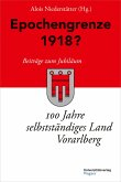 Epochengrenze 1918? (eBook, ePUB)