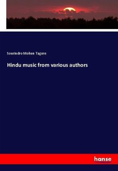 Hindu music from various authors