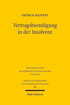 Vertragsbeendigung in der Insolvenz (eBook, PDF) - Keinert, Patrick