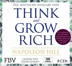 Think and Grow Rich - Deutsche Ausgabe, 8 Audio-CDs
