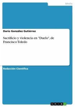 Sacrificio y violencia en
