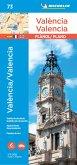 Valencia - Michelin City Plan 73