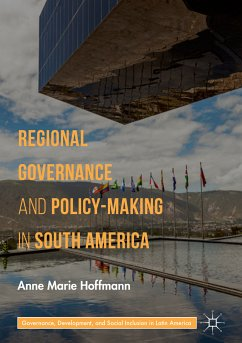 Regional Governance and Policy-Making in South America (eBook, PDF) - Hoffmann, Anne Marie