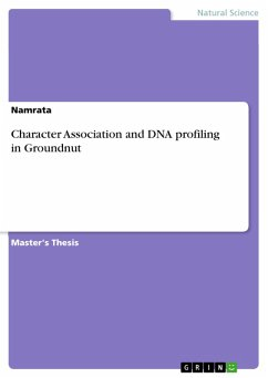Character Association and DNA profiling in Groundnut (eBook, PDF)