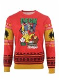 Batman: Deck the Halls Xmas Pullover, Größe L, Strickpullover