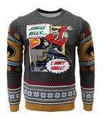 Batman: I Don't Smell Xmas Pullover, Größe S, Strickpullover