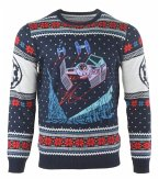 Star Wars Tie Fighter: Battle of Yavin, Xmas Pullover, Größe XL, Strickpullover