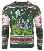 Star Wars: Battle of Endor, Xmas Pullover, Größe L, Strickpullover