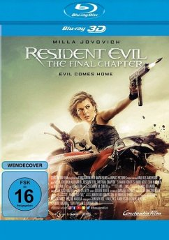 Resident Evil: The Final Chapter 3D-Edition - Milla Jovovich,Ali Larter,Iain Glen