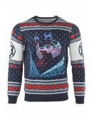 Star Wars Tie Fighter: Battle of Yavin, Xmas Pullover, Größe L, Strickpullover