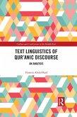 Text Linguistics of Qur'anic Discourse (eBook, ePUB)