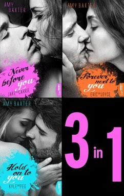 San Francisco Ink - Band 1-3: Never before you - Forever next to you - Hold on to you (eBook, ePUB) - Baxter, Amy
