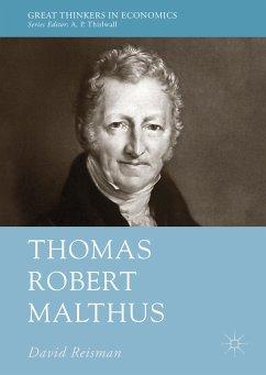 Thomas Robert Malthus (eBook, PDF) - Reisman, David