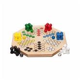 Philos 3307 - Maxi Würfelspiel, 4 oder 6 Spieler, Strategiespiel, Familienspiel