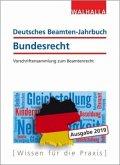 Deutsches Beamten-Jahrbuch Bundesrecht Jahresband 2019