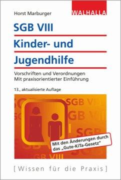 SGB VIII - Kinder- und Jugendhilfe - Marburger, Horst