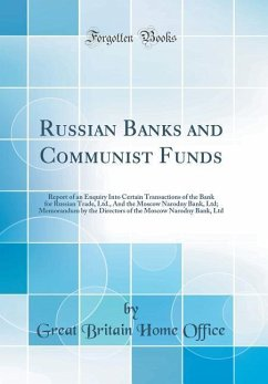 Russian Banks and Communist Funds