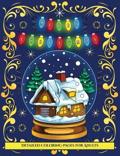 Detailed Coloring Pages for Adults (Merry Chris...