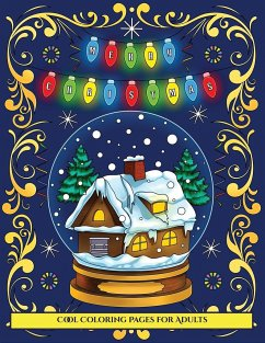 Cool Coloring Pages for Adults (Merry Christmas)