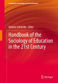 Handbook of the Sociology of Education in the 21st Century (eBook, PDF)