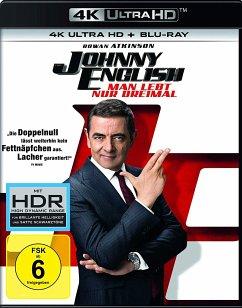 Johnny English - Man lebt nur dreimal (4K Ultra HD + Blu-ray) - Rowan Atkinson,Ben Miller,Olga Kurylenko