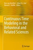 Continuous Time Modeling in the Behavioral and Related Sciences (eBook, PDF)
