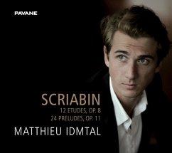 12 Etudes Op.8,24 Preludes Op.11 - Idmtal,Matthieu