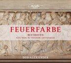 Feuerfarbe-Frühwerke Für Violoncello Und Fortep.