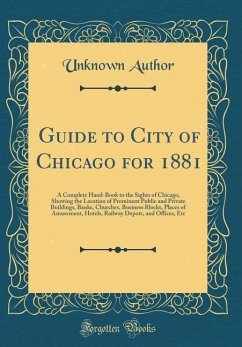 Guide to City of Chicago for 1881
