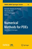 Numerical Methods for PDEs (eBook, PDF)