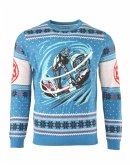 Star Wars AT-AT: Battle of Hoth Xmas Pullover, Größe XL, Strickpullover