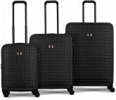 Wenger Matrix Reisekoffer Set 3 Größen S M L schwarz