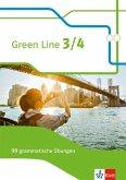 Green Line 3/4. 99 grammatische Übungen mit Lösungen Klasse 7/8. (G8 und G9) Bundesausgabe ab 2014. Klasse