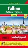 Freytag & Berndt Stadtplan Tallinn, Stadtplan 1:10.000