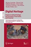 Digital Heritage. Progress in Cultural Heritage: Documentation, Preservation, and Protection (eBook, PDF)